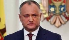 رئيس مولدافيا: الإفراج عن طيارين كانا محتجزين في أفغانستان منذ 2015