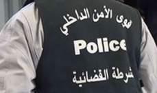 مفرزة حلبا أوقفت مطلوبَين لبنانيين بجرم تهديد بالخطف وزنا وثالثا بجرم سرقة