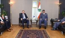 اللواء عثمان عرض مع سفيرة أستراليا للعلاقات بين البلدين ومع درغام للأوضاع العامة