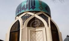 مقام العلامة الكفعمي محجة لزوار الحوزات الدينية من قم والنجف