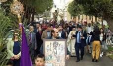 قداديس الفصح عمت قرى وبلدات إقليم الخروب