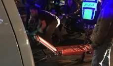 جريح نتيجة حادث سير في الأونيسكو ببيروت