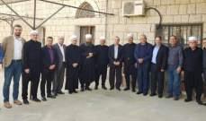 لجنة التواصل في المجلس المذهبي الدرزي جالت على مرجعيات حاصبيا