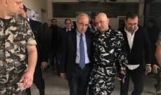 وزير العدل من سراي زغرتا:  زيارتنا هي للاطلاع على حاجات المحكمة