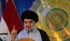الصدر: لعدم اشتراك قيادات الحشد الشعبي في الانتخابات العراقية