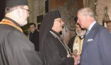المطران درويش باحتفال ميلادي في لندن: الربيع العربي دمّر البشر والحجر