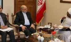 الاتحاد الإفريقي أكد استعداده لتعزيز التعاون مع إيران