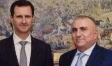 شلق أبرق الى الأسد مهنئا بذكرى حرب تشرين