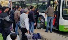 مركز استقبال وتوزيع اللاجئين: عودة أكثر من 780 نازحا إلى سوريا خلال الـ24 ساعة الماضية
