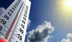 رئيس دائرة التقديرات بمصلحة الأرصاد الجوية بمطار بيروت: الحرارة ستعود مساء لطبيعتها