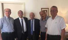"""وفد من أوليب و""""الديمقراطيون المستقلون"""" قدم للحسيني ملفات عن أوضاع الجامعة اللبنانية"""