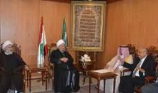 قبلان التقى سفير المغرب وبحث معه تطورات الاوضاع في لبنان والمنطقة