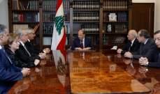 الرئيس عون استقبل رئيس مجلس القضاء الأعلى القاضي جان فهد