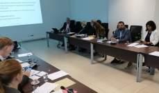 شهيب تابع مع اللجنة الإستشارية للقرض الدولي تقييم الحاجات