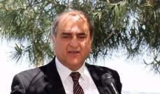 وزير البيئة: اقليم الخروب خسر قامة اعلامية وفنية من الزمن الجميل