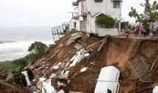الحكومة الافريقية: عدد ضحايا السيول في جنوب أفريقيا يقترب من 70 قتيلًا
