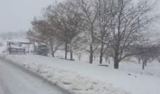 التحكم المروري للنشرة: طرقات حدث بعلبك وعيون السيمان وعيناتا الأزر مقطوعة بسبب تراكم الثلوج