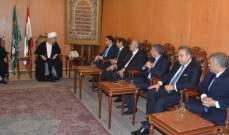 """وفد من """"التيار الوطني"""" زار قبلان:لا حل لأزمة النزوح إلا بعودة آمنة للسوريين"""
