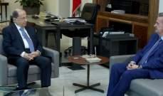 مصادر الشرق الأوسط: سلامة يضع عون بتفاصيل التطورات المالية بشكل دوري ومتكرر