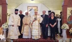 درويش بعيد القديس جاورجيوس في تربل:مياه المعمودية تشفي الإنسان من الخطيئة