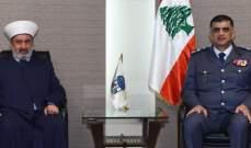 اللواء عثمان عرض الأوضاع في البقاع مع المفتي خالد الصلح