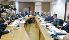 لجنة الدفاع تابعت درس مشروع القانون المتعلق بالرسوم والعلاوات البلدية
