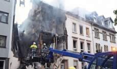 إصابة 25 شخصا في انفجار دمر مبنى بمدينة فوبرتال غربي ألمانيا