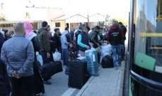 الأمن العام: تأمين العودة الطوعية لـ545 نازحا سوريا من مناطق مختلفة في لبنان