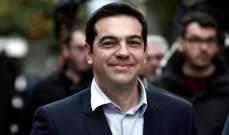 تسيبراس يدعو النواب لتجديد الثقة بحكومته بعد استقالة وزير الدفاع اليوناني
