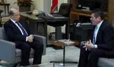 الرئيس عون استقبل سفير لبنان في اليابان وبحث معه قضية كارلوس غصن