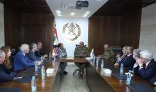 قائد الجيش التقى جابر ووفد مجلس العموم البريطاني