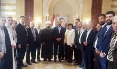 وفد من مشايخ وفعاليات الطائفة العلوية زار الحريري:لاسترجاع حقوق الطائفة