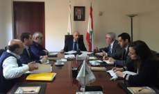 وزير البيئة عرض مع نواب المتن واتحاد البلديات سبل تفادي أزمة النفايات