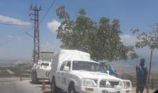 النشرة: قوة إسرائيلية مشطت الطريق العسكري ما بين تلة العديسة والمطلة