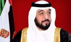 رئيس الإمارات يوجه بالتواصل مع المجلس العسكري الانتقالي في السودان لبحث مجالات المساعدة