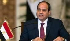 السيسي يؤكد خلال لقائه بحفتر دعم بلاده لجهود مكافحة الإرهاب