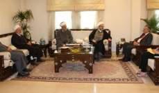 تجمع العلماء زار سفير سوريا بلبنان:هنأناه على الإنجازات في الغوطة والقلمون