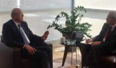 ميقاتي عرض وسابا دور البنك الدولي بالتعاون مع لبنان