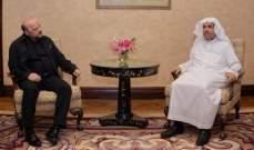 الرياشي التقى الامين العام لرابطة العالم الاسلامي وناقش معه ابعاد الحوار وأهميته