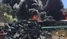 محافظ البقاع: للتحقيق في حريق قب الياس