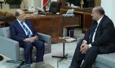 الرئيس عون يحث مع سفير لبنان بسوريا ملف النازحين والعلاقات اللبنانية السورية