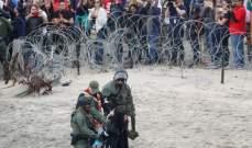 اعتقال مئات المهاجرين على الجانب الأميركي من الحدود مع المكسيك