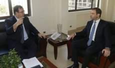 افيوني عرض وفوشيه سبل التعاون بين لبنان وفرنسا لتفعيل اقتصاد المعرفة