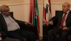 أسامة سعد:لإعطاء اللاجئين الفلسطينيين بلبنان الحقوق الإنسانية والاجتماعية