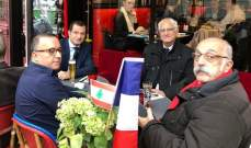 السفير عدوان جال على المحال اللبنانية التي تأذت خلال مظاهرات باريس وعاين الأضرار