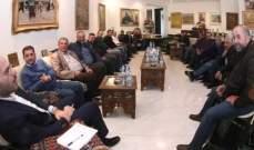 حسن مراد استقبل وفداً من نقابة مزارعين القمح في البقاع