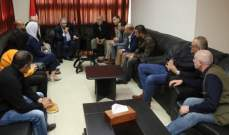 دبور اطلع من وفد تجمع بادر 48 على نشاطه داخل المجتمع المدني الفلسطيني