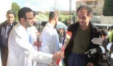 الهيئة الصحية نقلت مرضى من مستشفى الفنار إلى مركز الإمام الكاظم ومستشفى جويا