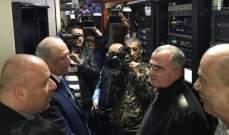 الجراح اطلق بث تلفزيون لبنان 24/24: هناك عقبة تكوين مجلس ادارة التلفزيون ونعمل على حلها