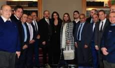 وفد من الجامعة اللبنانية زار سكاف وشكرها على اهتمامها وعطاءاتها